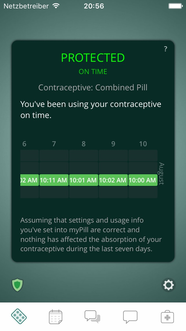 myPill\u00ae Birth Control Reminder App